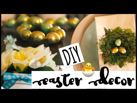 DIY Dollar Tree Easter Decor 2017! All under $5!