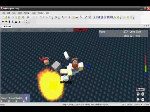 How to make your own RPG/Level up games in/on Roblox [Basic]