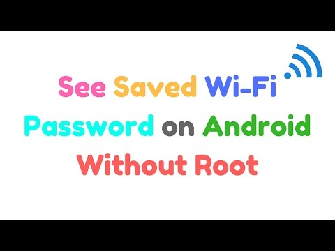 How To See Saved WiFi Password On Android Without Root