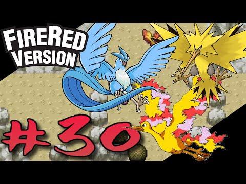 Pokemon: Fire Red - Tam Çözüm#30 : Articuno, Zapdos, Moltres