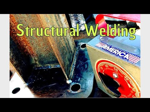 Structural welding tips. Facility COMPLETE
