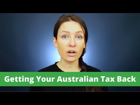 Getting Your Australian Tax Back