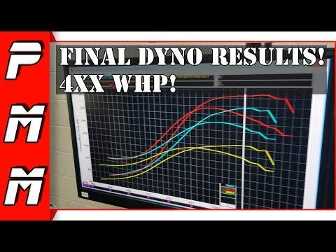 Final Dyno Results with 23.5 PSI of Boost! Single Turbo 1JZGTE Haltech Elite 2000 ECU