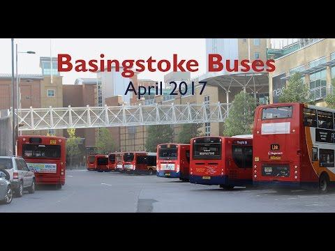 BASINGSTOKE BUSES - April 2017
