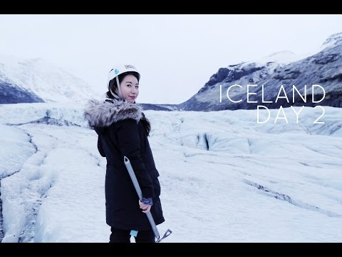 Iceland Day 2   Glacier Hiking w Extreme Iceland!