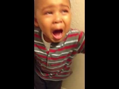 3 year old boy talking back