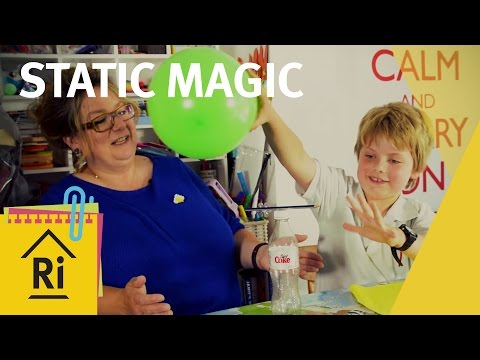 Static magic - Science with children - ExpeRimental #5