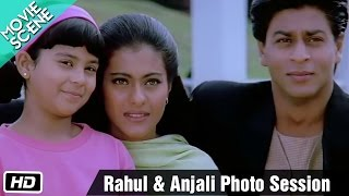 Download Rahul & Anjali photo session - Movie Scene - Kuch Kuch Hota Hai - Shahrukh Khan, Kajol, Salman Khan Video
