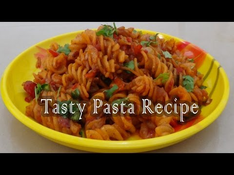 Indian Style Pasta 2017 Recipe | Quick & Easy Pasta Recipe | Spicy Masala Pasta | by CookwithND