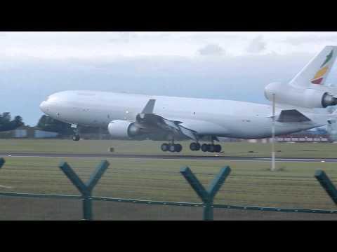 *RARE* (Ex) Ethiopian MD-11F Landing at Dublin