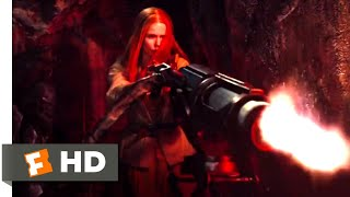 Hansel & Gretel: Witch Hunters (2013) - Epic Magic Battle Scene (7/10) | Movieclips