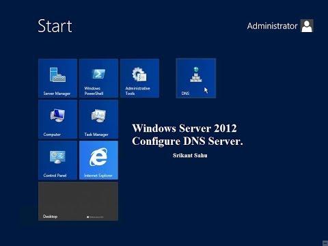 Windows Server 2012 :  DNS Server Reverse lookup Zone