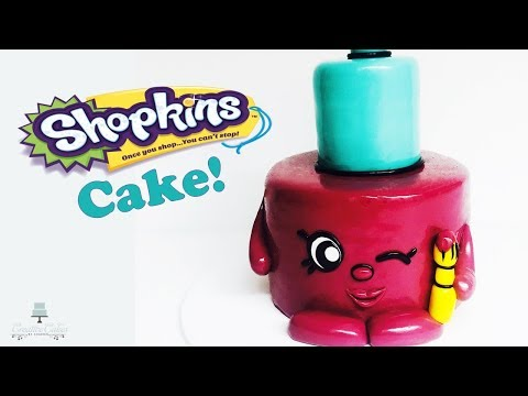 Shopkins Polly Polish Cake | How to make from Creative Cakes by Sharon