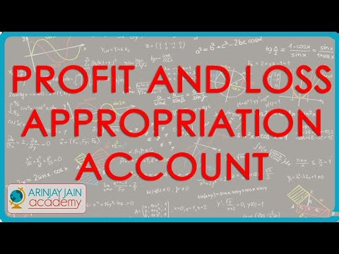 1194. Profit and Loss Appropriation Account
