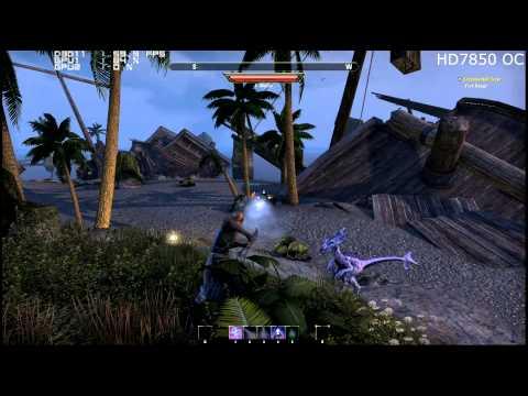 AMD HD 7850 The Elder Scrolls Online Beta Benchmark Review 1080p Max