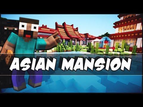 Minecraft - Modern Asian Mansion