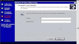 WinXP installation tutorial part 2  by shaikof