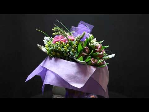 25 stems arrangment lavender