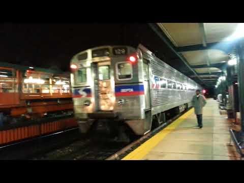 Wire Train, Silverliners, Snow.... SEPTA Sprinter