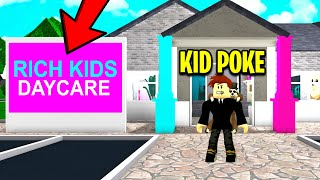 RICH DAYCARE Wants RICH KIDS.. I Went UNDERCOVER And Found Her Secret.. (Roblox)