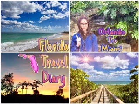 Roadtrip From Orlando to Miami | •Florida Travel Diary•
