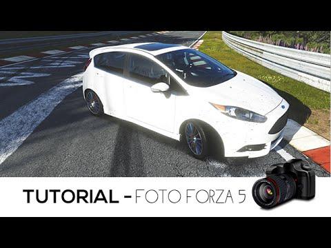 Como tirar foto no Forza 5