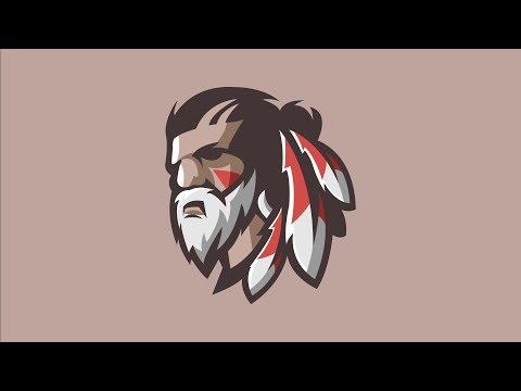 Bearded Indian man - Illustrator speed art\Download link