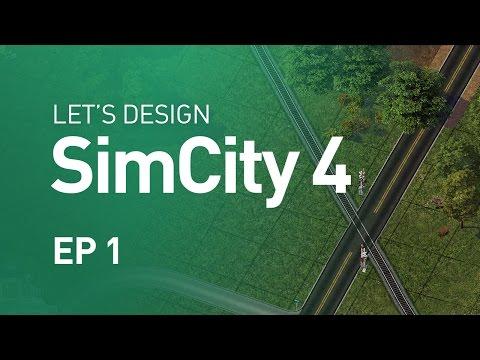 Let's Design SimCity 4 — EP 1 — A Rural Town is Born