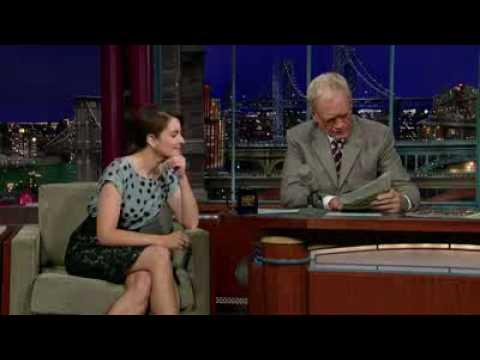 David Letterman - Tina Fey: 24-Year Old Virgin