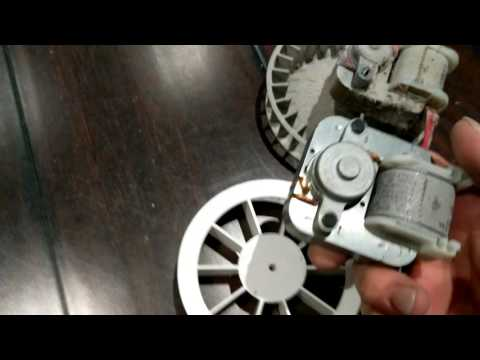 DIY Replacing a Nutone exhaust fan motor with a commonly found model from home depot