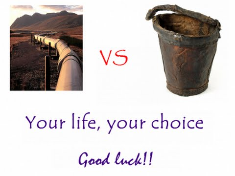 PARABLE OF THE BUCKETS AND PIPELINE