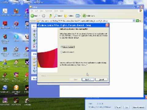Cara meng install Adobe Reader dan Adobe Acrobat