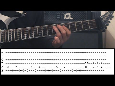 Judas Priest - Lightning Strike -  Guitar Lesson