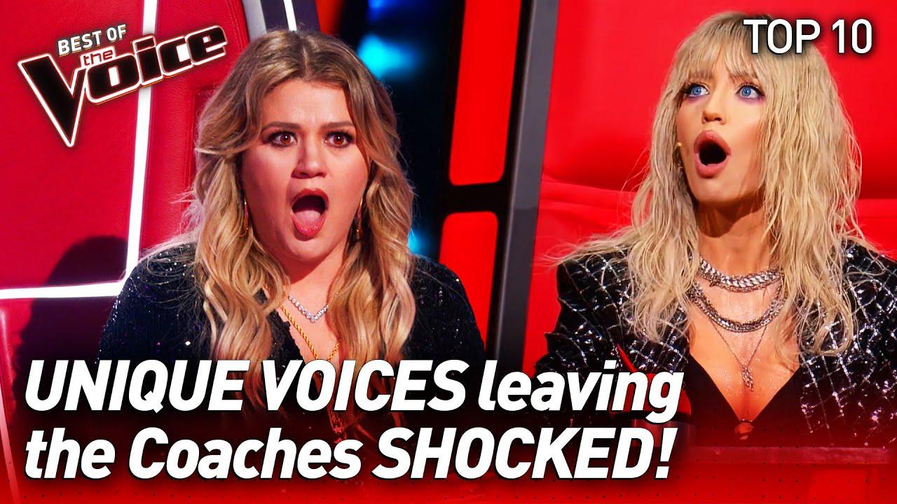 The most UNIQUE VOICES on The Voice #2 | Top 10
