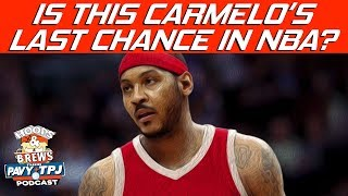 Will Carmelo Anthony Be Good on Rockets ? | Hoops N Brews