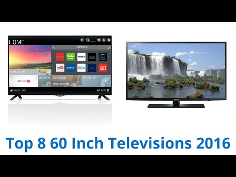8 Best 60 Inch Televisions 2016