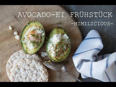 Avocado-Ei Frühstück!! Schnell, Gesund & Einfach!