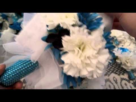Ep4 DIY wedding!!! Bouquets, Corsages and Veil