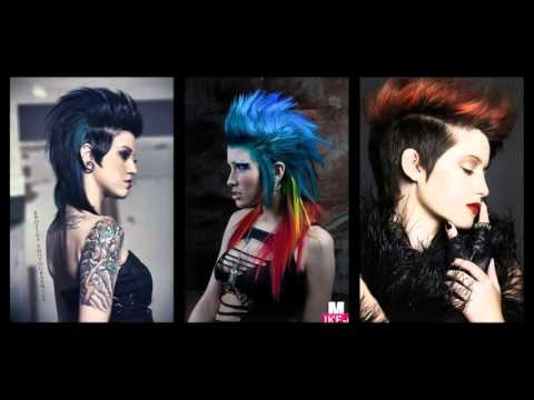 25 Exceptional Punk Hairstyles for Women!