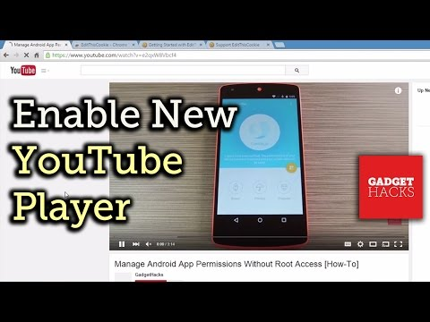 Enable the New YouTube Player with Transparent Video Controls - Firefox or Chrome [How-To]