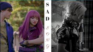 Mal and Carlos ✘ sad song
