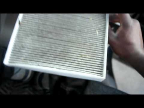 how to change cabin air filter sonata 2015