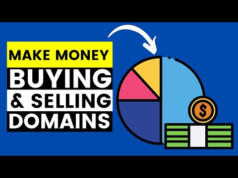 How To Make Money From Buying And Selling Domain Names