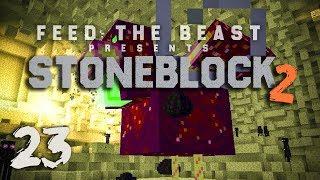 StoneBlock 2 Modpack Ep  6 Automatic Sieve Setup + Item Sorting