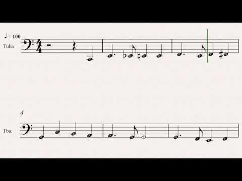 I Heard The Bells On Christmas Day Sheet Music: (20 Easy Christmas Carols For Beginners Tuba - Book
