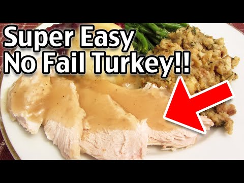 How To Make The Best Thanksgiving Roast Turkey - Moist And Tasty Turkey Recipe!