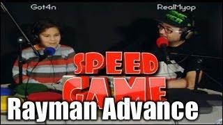Speed Game - Rayman Advance - Fini en 1:16:19