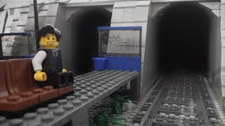 LEGO city Time Lapse - Train Yard