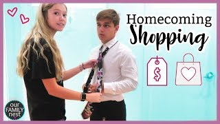 Homecoming Clothes Shopping!