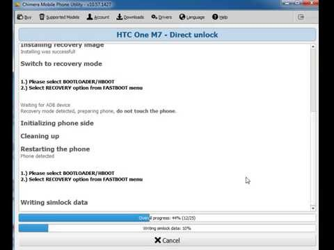 HTC One M7 Unlock, Repair IMEI, S-OFF with ChimeraTool